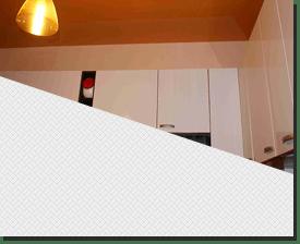 Натяжной потолок глянцевый цветной.в кухню 6 кв.м.