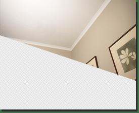 Натяжной потолок сатиновый белый в комнату 18кв.м.